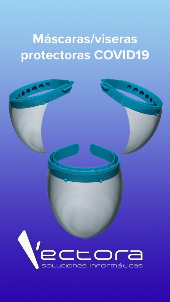 09 viseras historias IG 575x1024 - Viseras impresas en 3D para Máscaras COVID-19